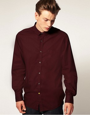 Pretty Green by Liam Gallagher Penny Collar Shirt