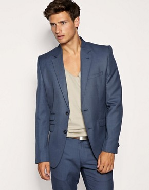 ASOS Slim Fit Blue Jacket