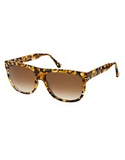 buy Thierry Lasry Brown Square Profecy Sunglasses by Thierry Lasry in swimsuits shop