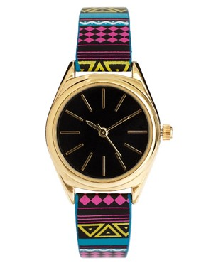 Image 1 of&#160;ASOS Aztec Bright Watch