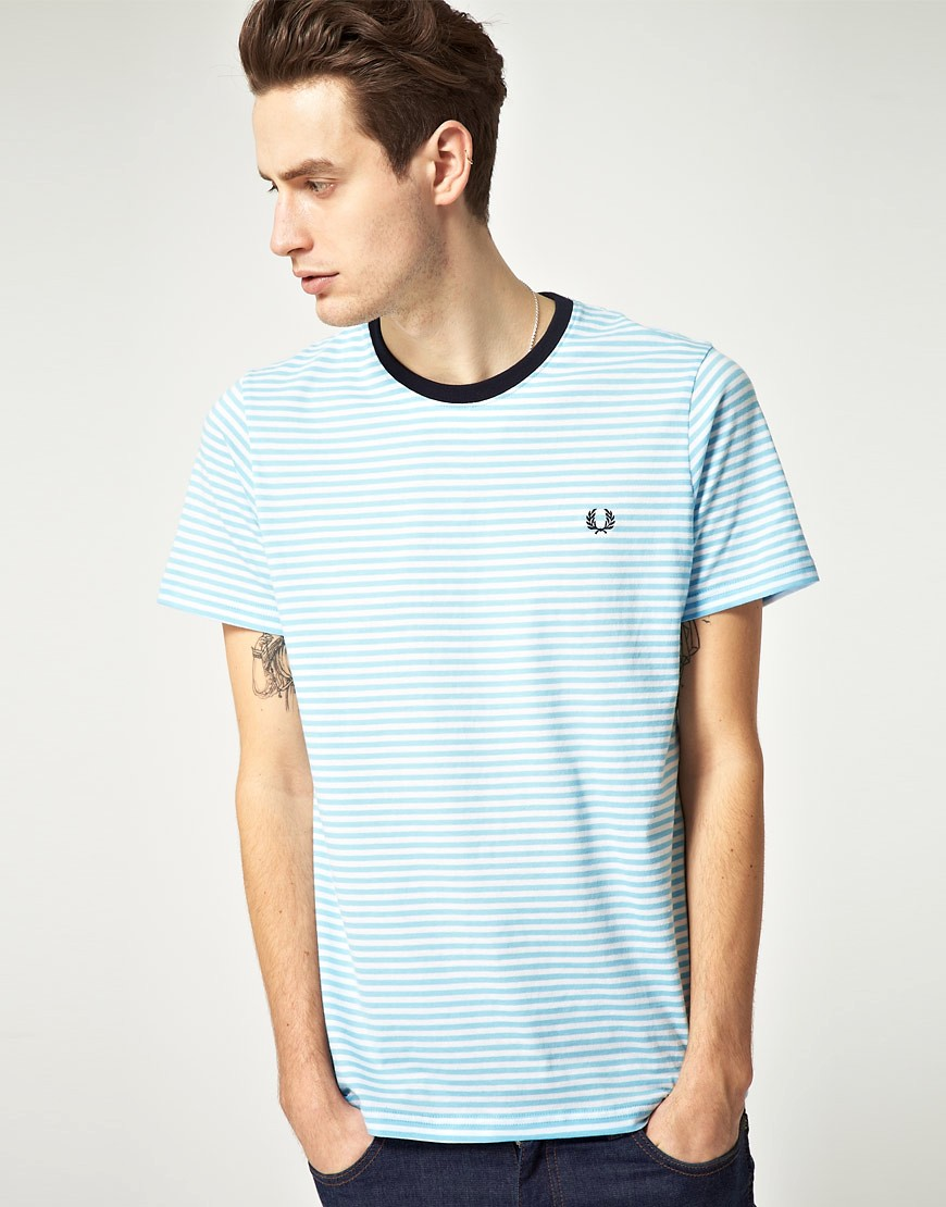 Camiseta a rayas de Fred Perry