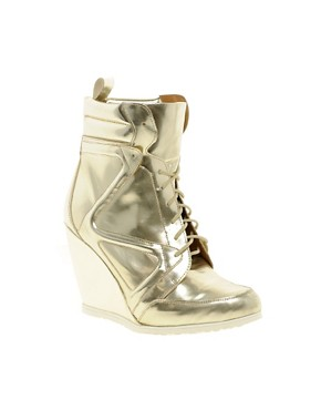 Image 1 of&#160;ASOS ARK Wedge Ankle Boots