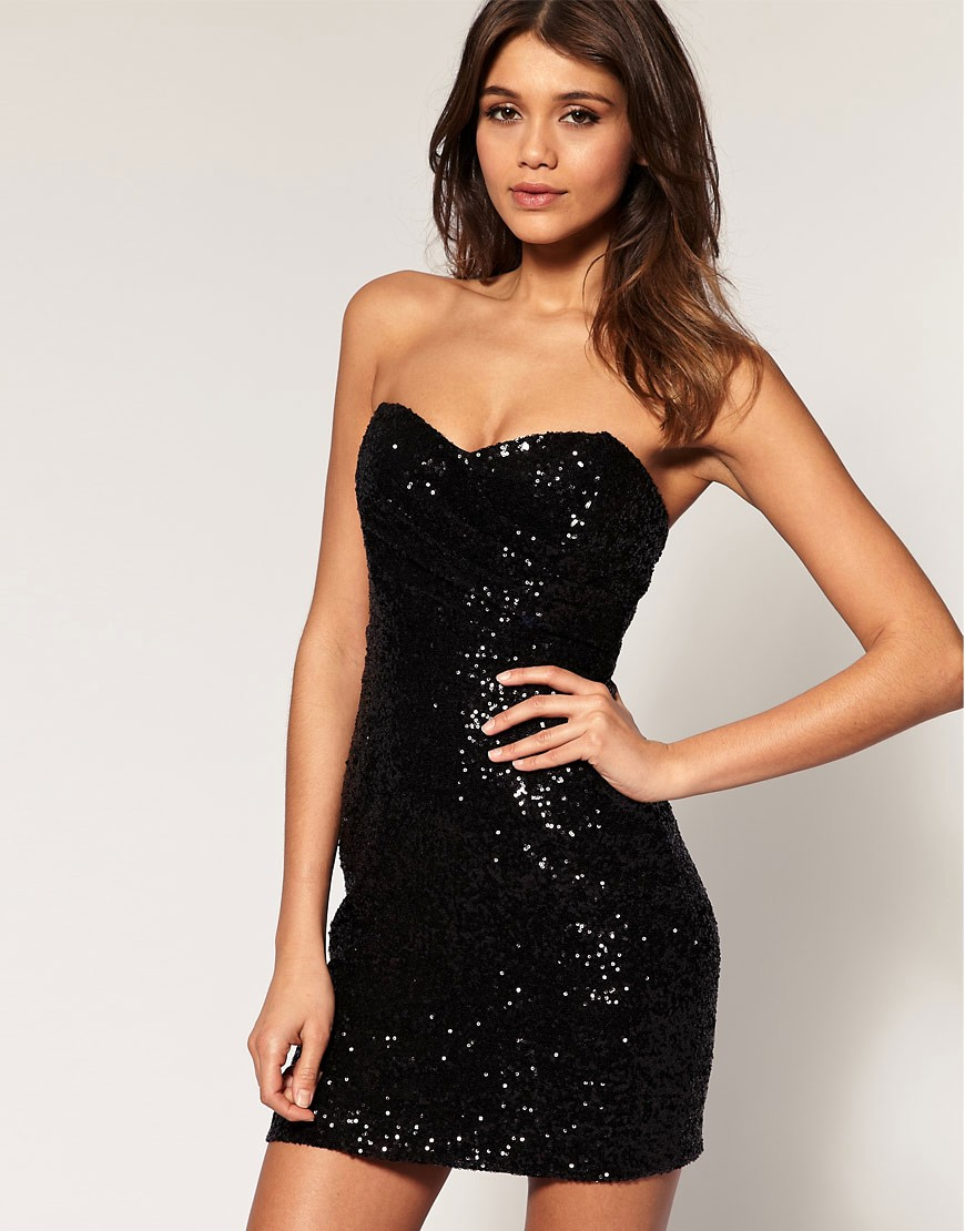 Fad of the Week: The Sequined Black Mini