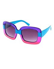 buy ASOS Colour Block Sunglasses by ASOS in swimsuits shop