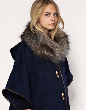 ASOS Long Fantasy Fur Snood :  faux fur hood accessories fur accessory