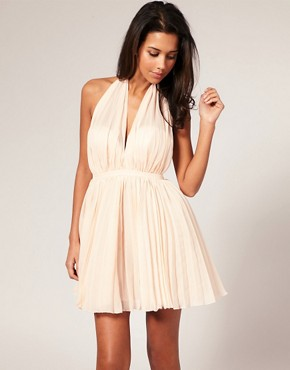 Image 1 of ASOS Marylin Pleated Prom Dress