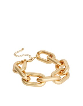 Image 1 of&#160;ASOS Chunky Link Chain Bracelet