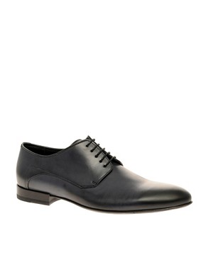 HUGO By Hugo Boss Polvereno Leather Derby Shoes