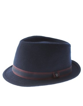 Ted Baker Wool Small Brim Trilby