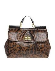ASOS Handheld Leopard Print Bar Bag