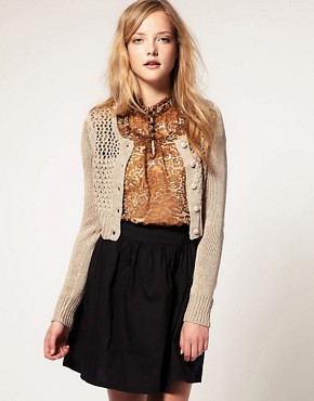 Image 1 ofVero Moda Cropped Cardigan