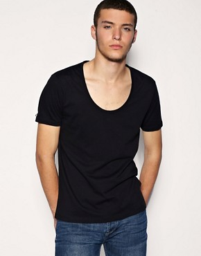 ASOS Teardrop Neckline T-Shirt