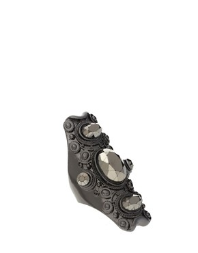 Image 1 of ASOS Opaque Stone Decorated Band