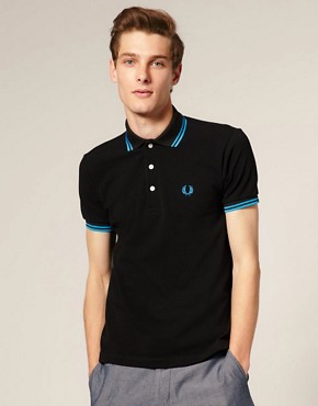 Fred Perry Laurel Wreath Slim Fit Ltd Edition Japanese Polo
