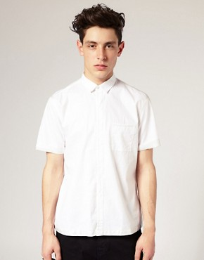 ASOS BLACK Silk Trim Shirt