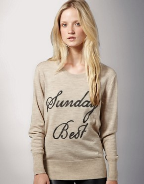 Markus Lupfer | Markus Lupfer Sunday Best Sweater at ASOS :  tops markus lupfer top asos