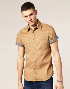G Star Correct Line New Western LS Shirt
