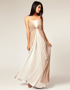 Coast | Coast Lala Maxi at ASOS :  colorblock wedding gown dress