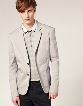 Ted Baker Unstructured Cotton Blazer