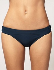buy Calvin Klein Shirred Full Classic Bikini Brief by Calvin Klein in swimsuits shop