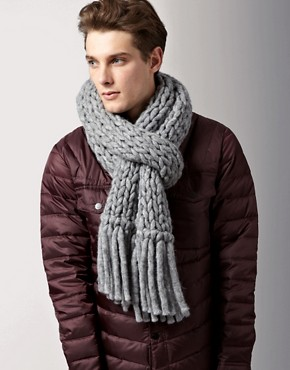 HUGO Hugo Boss Chunky Oversized Scarf
