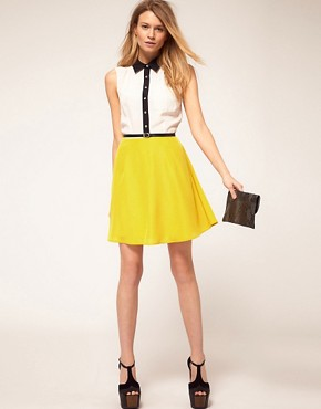 Image 4 of&#160;Oasis Colour Block Shirt Dress