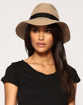 ASOS - Wide Brim Fedora :  wide brim hat accessories hats head
