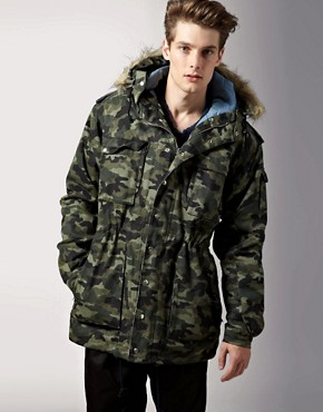 Henrik Vibskov Wiper Camo Reverse Jacket