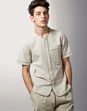 Tim Soar Stripe Baseball Shirt LFW SS11