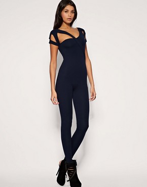 ASOS Cut About Unitard :  shopping unitard cut out style