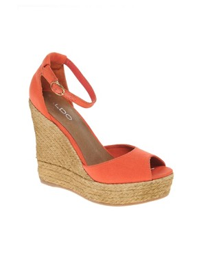 Image 1 of ALDO Lovin Espadrille Wedge Sandals