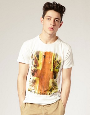 Religion Union Jack Print T-Shirt