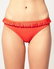 buy Seafolly Hipster Bikini Briefs With Box Pleat by Seafolly in swimsuits shop