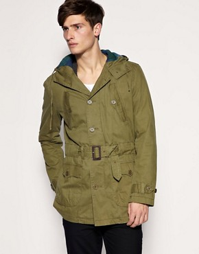 ASOS Military Parka Jacket