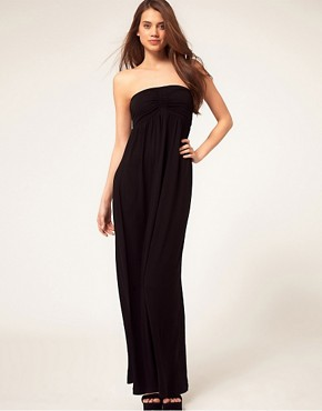 ASOS ASOS Maxi Dress With Ruched Bust at ASOS from us.asos.com