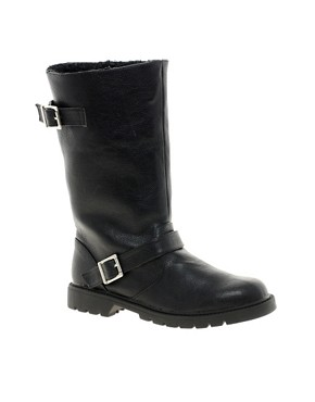 ASOS | ASOS CYCLONE Biker Boots at ASOS :  womens boots stylish boots