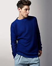James Long Sid Crew Neck Jumper LFW SS11