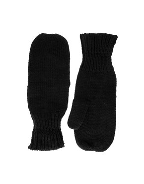 ASOS Chunky Knitted Mittens