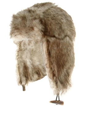 ASOS All Over Fur Trapper Hat
