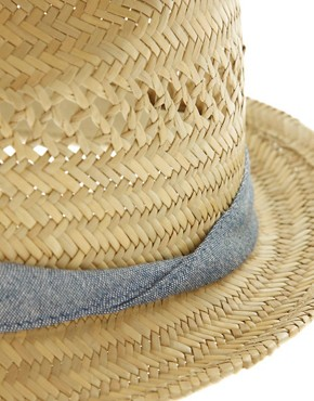ASOS Straw Trilby