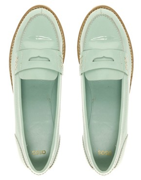 Image 3 of ASOS MACABEE Patent Loafer