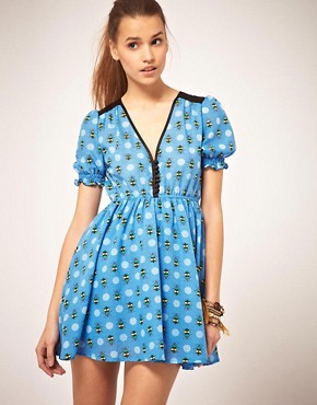 Image 1 of&#160;Orion Bug Print Dress