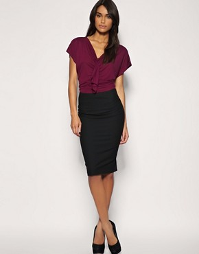 ASOS | ASOS Waterfall Front Top at ASOS :  top purple