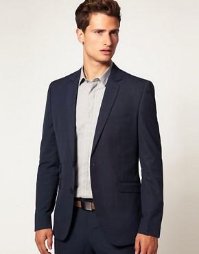 ASOS Slim Fit Blue Jacket
