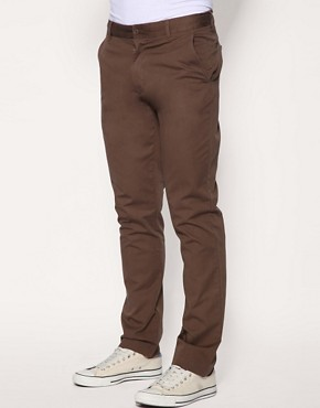 ASOS Overdyed Slim Fit Trousers