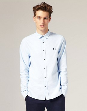 Fred Perry Laurel Wreath Oxford Cotton Penny Collar Shirt