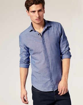 ASOS Smart Chambray Shirt