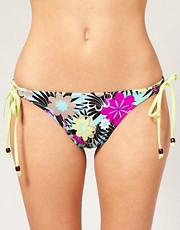buy Freya Moonflower Tie Side Bikini Brief by Freya in swimsuits shop