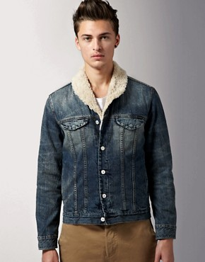 Paul Smith Jeans Shawl Neck Denim Jacket