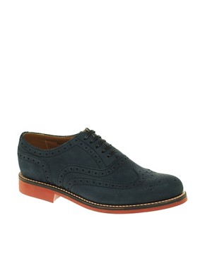 Grenson Stanley Suede Brogues